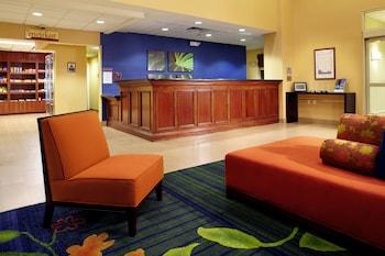 Lobby at Fairfield Inn & Suites by Marriott Phoenix Midtown in Phoenix