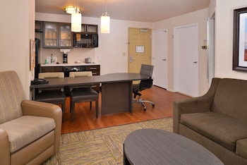 Studio Suite, 1 Queen Bed, Accessible, Non Smoking (Roll-In Shower)