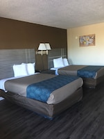 Standard Double Room, 2 Double Beds, Smoking at Econo Lodge Savannah Gateway I-95 in Savannah