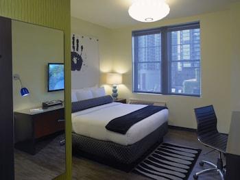 Room, 1 Queen Bed, City View (205 SQFT)
