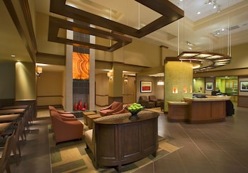 Lobby Sitting Area at Hyatt Place Fort Worth Cityview in Fort Worth