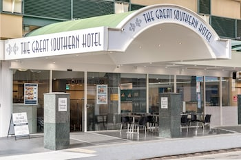 Hotel Front at Great Southern Hotel Brisbane in Brisbane