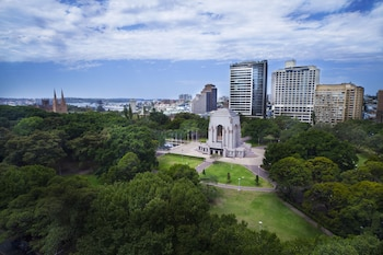 Aerial View at Hyde Park Inn in Sydney