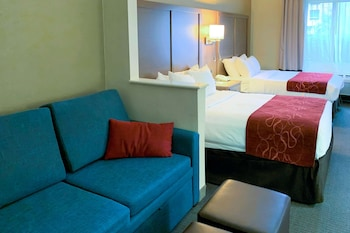 Suite, 2 Double Beds, Accessible, Non Smoking