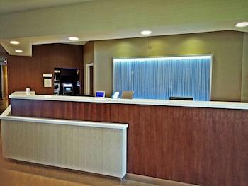 Reception at Fairfield Inn By Marriott Orlando Airport in Orlando