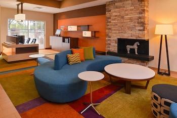Lobby at Fairfield Inn By Marriott Orlando Airport in Orlando