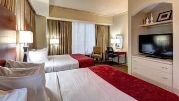 Standard Room, 2 Queen Beds, Non Smoking, Refrigerator & Microwave (Quiet Location)