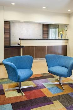 Lobby at Fairfield Inn & Suites Dallas Park Central in Dallas