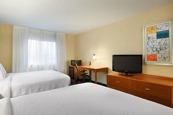 Guestroom at Fairfield Inn & Suites by Marriott Dallas Mesquite in Mesquite