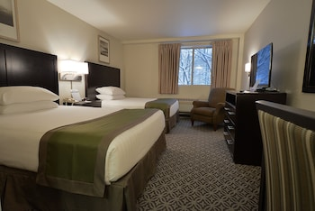Deluxe Double Room, Multiple Beds, Refrigerator & Microwave