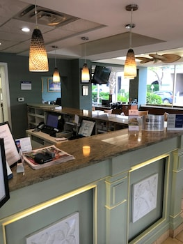 Reception at Best Western Plus Grand Strand Inn & Suites in Myrtle Beach