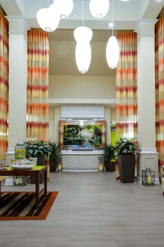 Reception at Hilton Garden Inn Charleston Airport in North Charleston