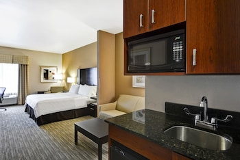 Suite, 1 King Bed, Non Smoking (Hearing, Roll-In Shower)
