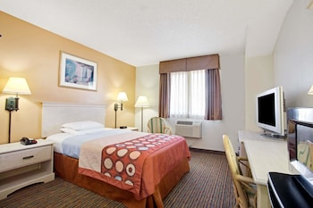 Room, 1 Queen Bed, Accessible, Non Smoking (Mobility/Hearing, roll-in shower)