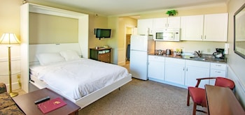 Efficiency Room, Double Size Wall Bed