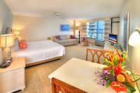 Standard Room, 1 King Bed with Sofa bed, Kitchen, Ocean View