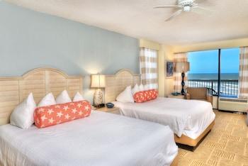 Superior Double Room, 2 Queen Beds, Kitchen, Ocean View