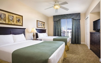 Guestroom at Wyndham Grand Desert in Las Vegas