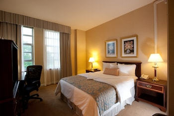 Guestroom at William F. Bolger Center in Potomac