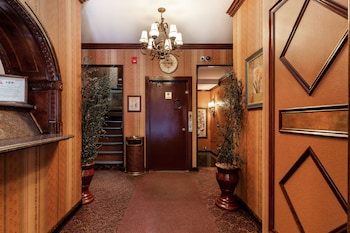 Lobby at Hotel 17 in New York
