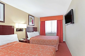 Guestroom at Super 8 by Wyndham Long Island City LGA Hotel in Astoria