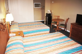 Guestroom at The Oceanfront Viking Motel in Myrtle Beach