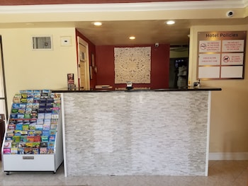 Check-in/Check-out Kiosk at Sevilla Inn in Kissimmee