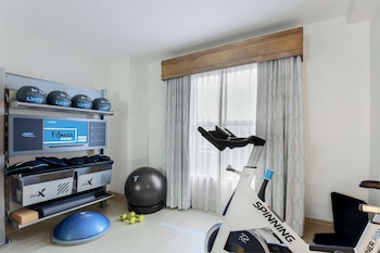 Room, 1 King Bed (Fitness Room with Spin Bike & Gymrax)