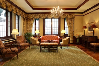Lobby Sitting Area at The Wall Street Inn in New York
