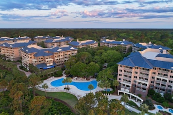 Aerial View at Marriott's Grande Ocean in Hilton Head Island