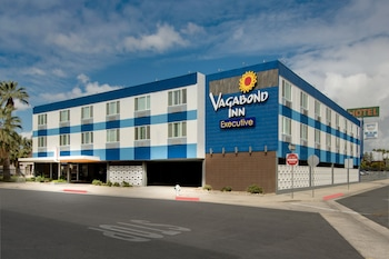 貝克斯菲爾德市區人漂泊行政旅館 Vagabond Inn Executive Bakersfield Downtowner