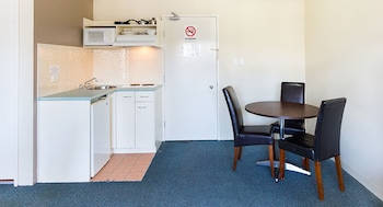 In-Room Kitchenette at Riverside Hotel Southbank in South Brisbane