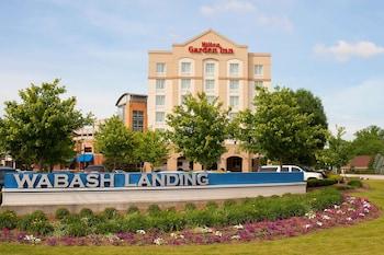 拉斐特瓦巴什蘭丁希爾頓花園飯店 Hilton Garden Inn West Lafayette Wabash Landing