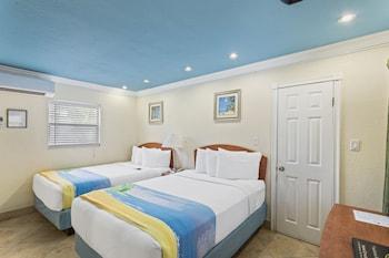 Deluxe Studio Suite (2 Double Beds and Sleeper sofa)