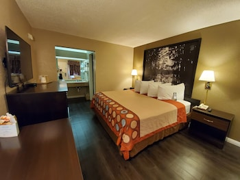 Standard Room, 1 King Bed, Refrigerator & Microwave