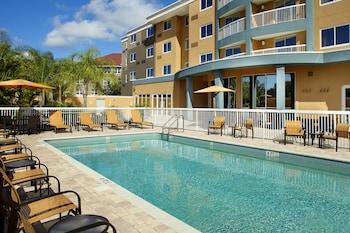 坦帕奧德瑪律萬怡飯店 Courtyard by Marriott Tampa Oldsmar