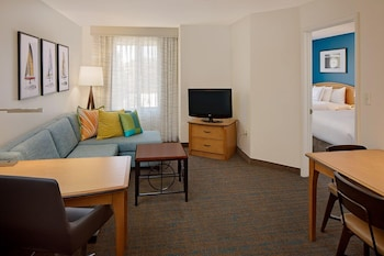 Guestroom at Residence Inn by Marriott San Diego Mission Valley in San Diego