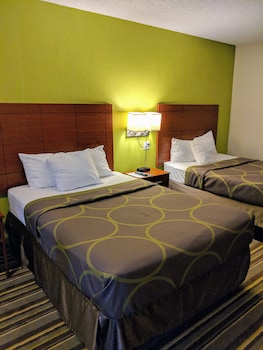 Room, 2 Double Beds, Courtyard View, Ground Floor
