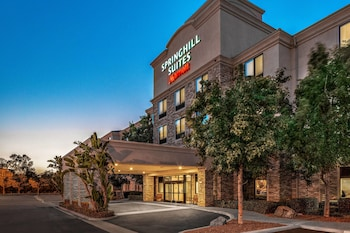 Hotel Front - Evening/Night at SpringHill Suites by Marriott San Diego-Scripps Poway in San Diego