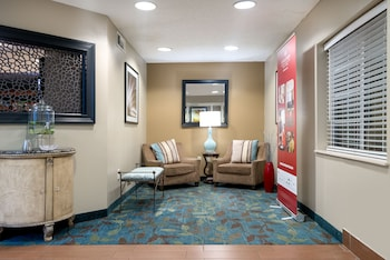 Lobby at Candlewood Suites Lake Mary in Lake Mary