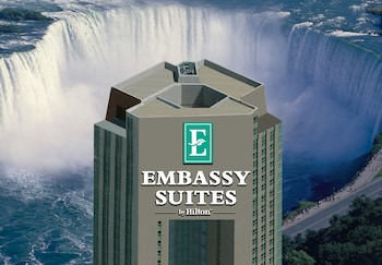 Book Embassy Suites by Hilton - Fallsview in Niagara Falls.