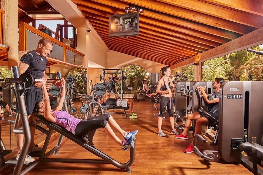 포르테 빌리지 리조트 - 르 팔메(Forte Village Resort – Le Palme) Hotel Image 10 - Gym