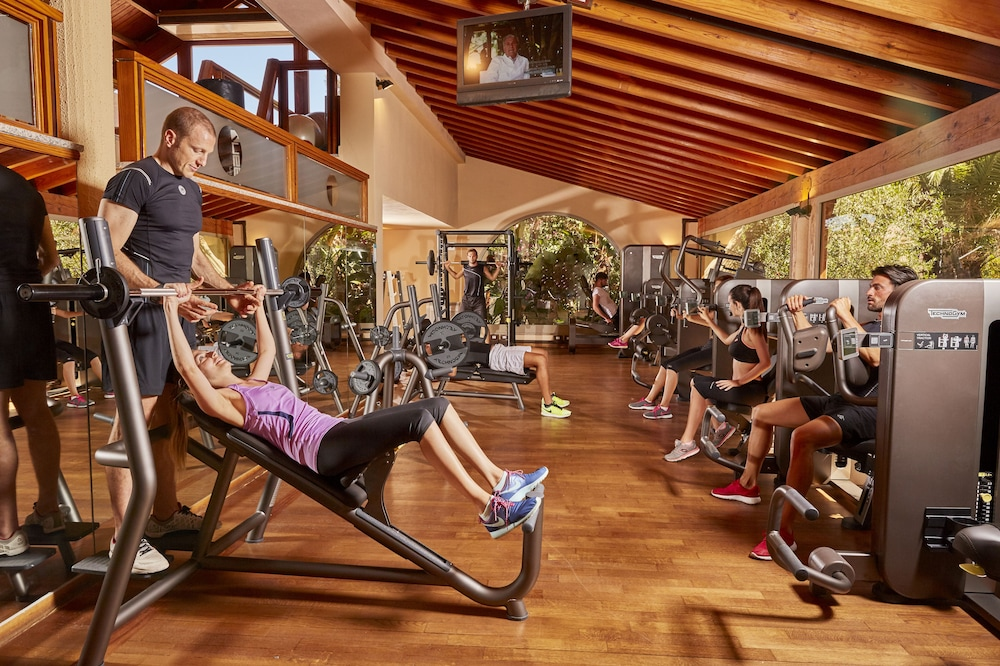 포르테 빌리지 리조트 - 일 보우간빌레(Forte Village Resort - Il Bouganville) Hotel Image 14 - Gym