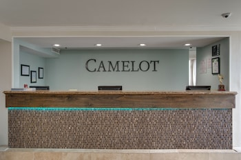 Lobby at Camelot By The Sea by Oceana Resorts in Myrtle Beach