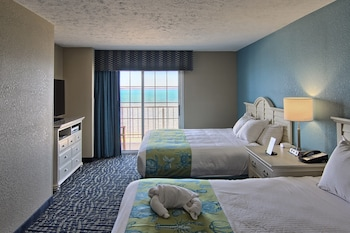 Family Suite, Multiple Beds, Beach View