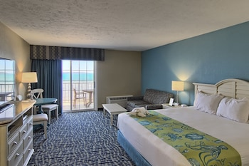 Standard Room, 1 King Bed with Sofa bed, Beach View (Upper Floor)