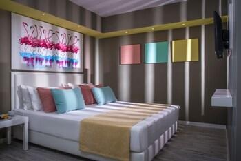 Tek Büyük Yataklı Oda (flamingo)