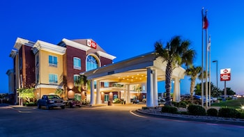 貝斯特韋斯特普拉斯伍德威韋科南套房飯店 Best Western Plus Woodway Waco South Inn & Suites