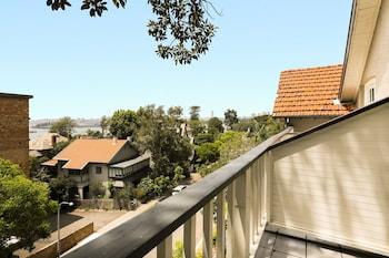 Balcony View at Glenferrie Lodge in Kirribilli