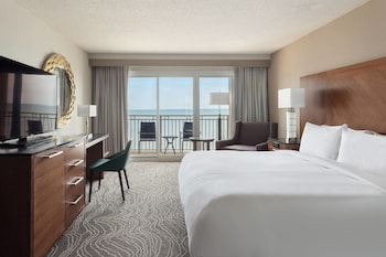 Guestroom at Myrtle Beach Marriott Resort & Spa at Grande Dunes in Myrtle Beach